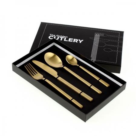 Besteck The Golden Cutlery 4-teilig